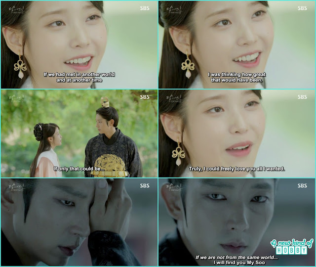 hae So told if we met in the other world i freely love you all i wanted  - Moon Lovers Scarlet Heart Ryeo - Episode 20 Finale (Eng Sub)