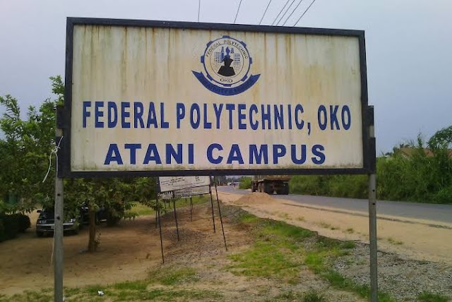 Students of Federal polytechnic Oko, Atani campus cries out help as flood, armed robbery takes over school
