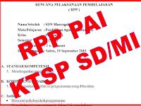 Download RPP PAI KTSP SD/MI Kelas 1 Sampai Kelas 6