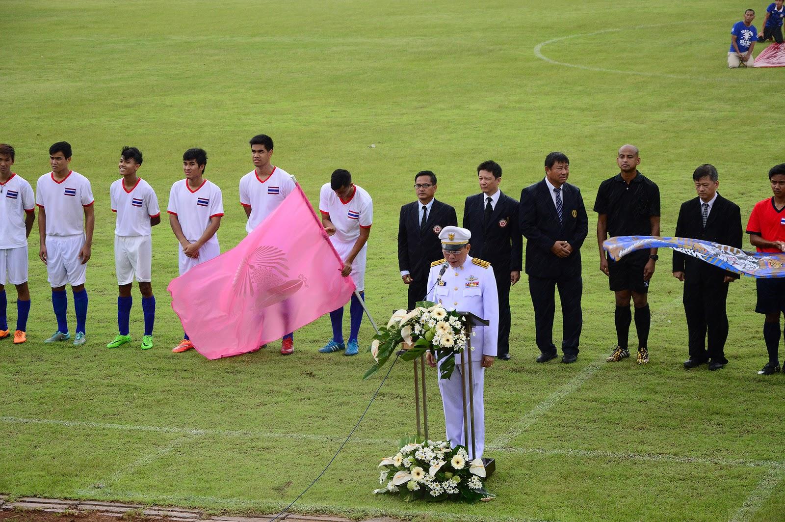 สมเด็จพระบรมโอรสาธิราชฯ สยามมกุฎราชกุมาร ทรงพระกรุณาโปรดเกล้าฯ  ให้ผู้แทนพระองค์ เป็นประธานการแข่งขันประเพณีกติกาฟุตบอล 119 ครั้งที่ 10  ประจำปี 2558 ที่จังหวัดนครปฐม ~ หนังสือพิมพ์ชี้ชัด เจาะลึก