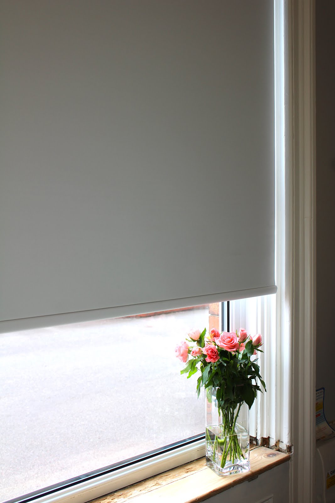Electric Roller Blind in Living Room