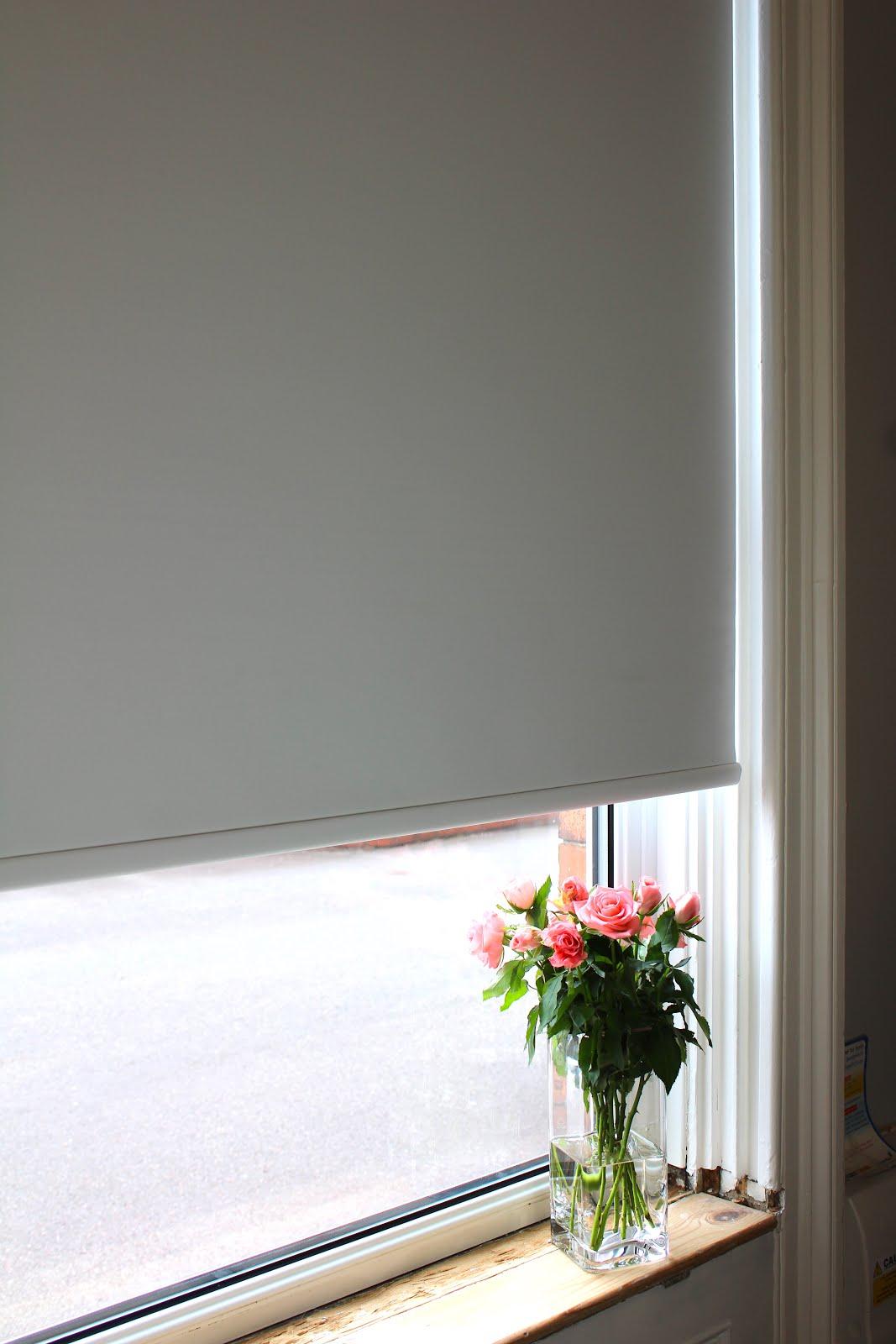 Electric Roller Blind in Living Room