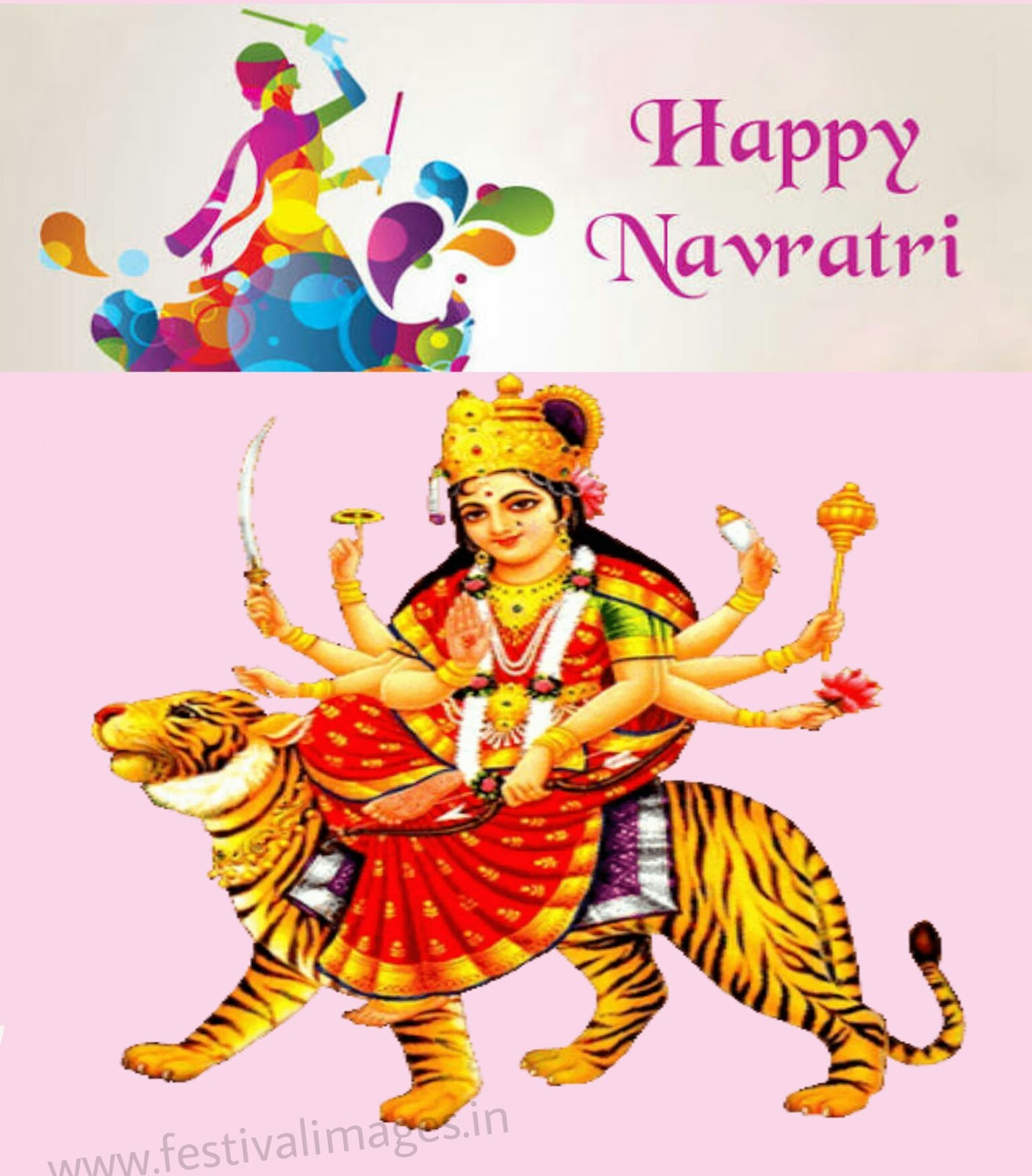 Festival images happy navratri 2017 with best wishes wallpaper kristyandbryce Choice Image