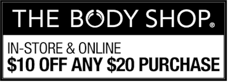 Daily Cheapskate: $10 off your $20 purchase at The Body Shop