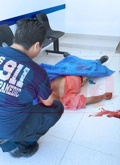 Fallece un albañil cuando apenas entraba en un consultorio. ¿Sufrió un golpe de calor?