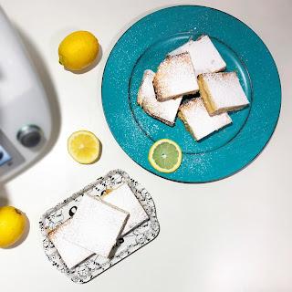 Cortadillos de Limón Lemon Bars