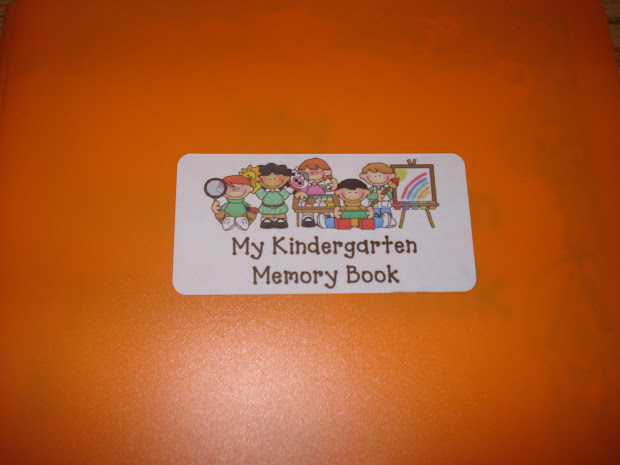 Preschool Memory Book Kindergarten