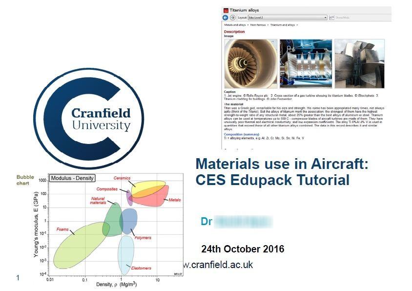 De Mes Cours En Aerospace Module Avec Deux Captures Crans Provenant Du Logiciel CES Fiche Dtaille Ti Niveau 2 Et Carte DAshby Ef