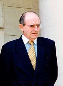 Fotografiado en junio de 1996 en La Moncloa