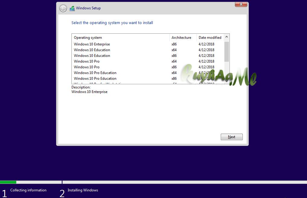 Windows 10 AIO RS4