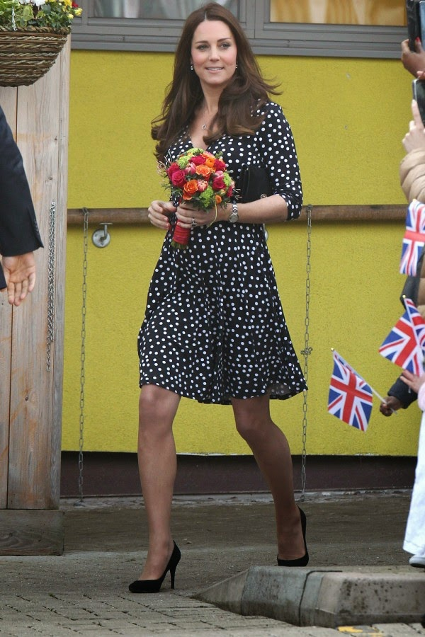 Kate Middleton Shows Off Her Thrifty Side In A £35 ASOS Dress