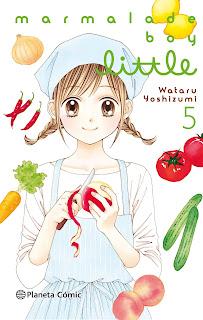 """Marmalade Boy Little"" vol.5 de Wataru Yoshimizu - Planeta Cómic"