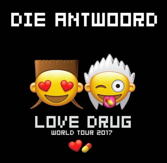 X Music TV presents music videos by Die Antwoord
