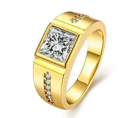 Top 10 Best Gold Engagement Rings for Men and Women with Price - Mens and Womens Ring Designs in Gold - Coupons99.in