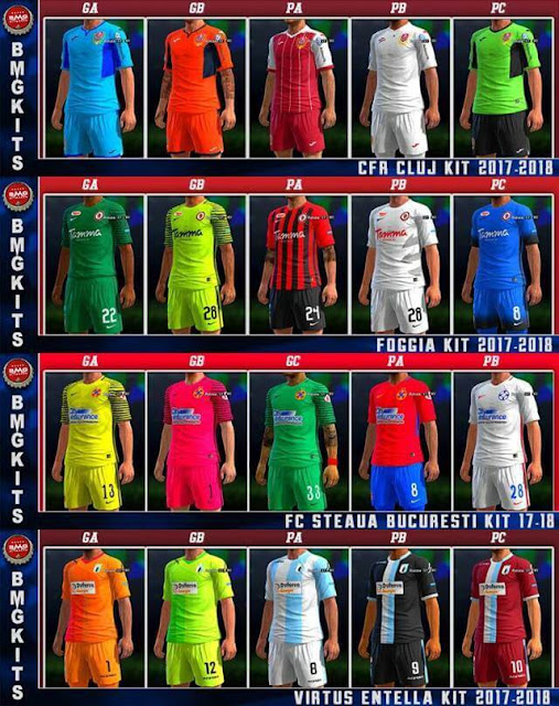 Mini Kits Update #06-03-2018 PES 2013
