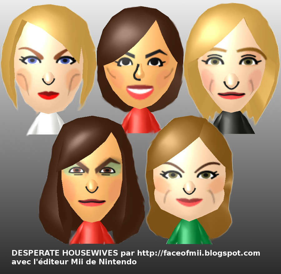 Desperate Housewives Mii