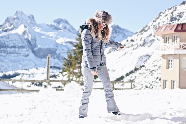 chaqueta snow azul