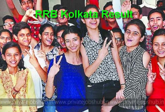 RRB Kolkata Result