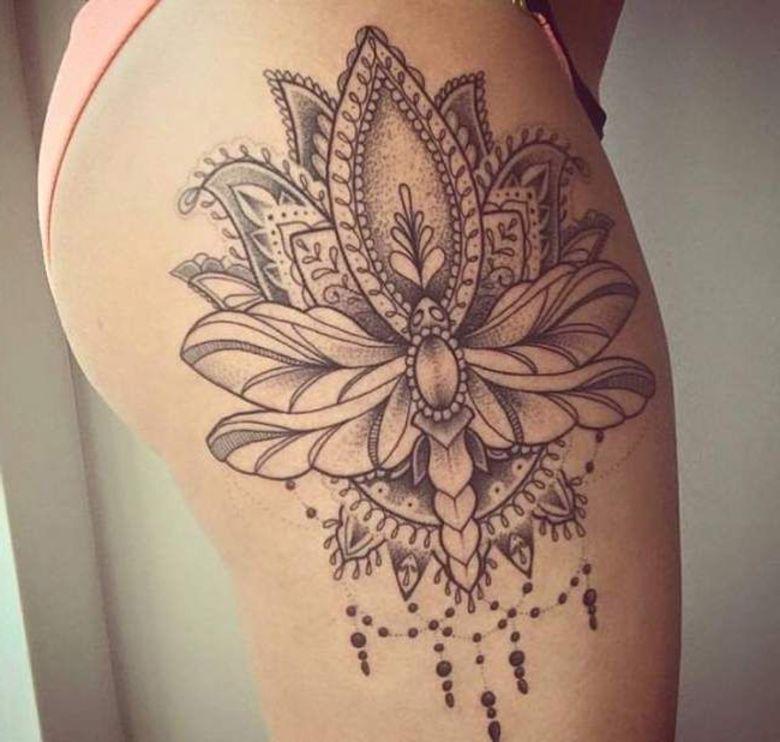 Tatuajes En El Muslo Para Mujeres