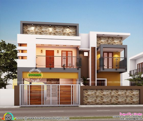 4 bedroom architecture home in contemporary style