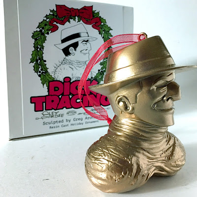 Dick Tracing Resin Figures by Alex Pardee x BarnyardFX - Dick & Balls Ornament