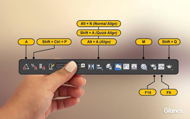 3D Tutorials - 3dsMax Shortcut Keys