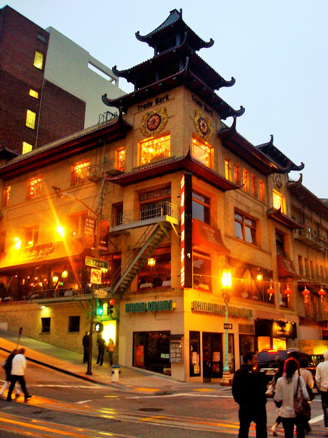 china Town - San Fransisco - California - USA