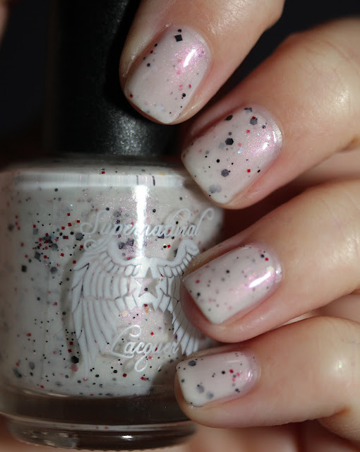 Supernatural Lacquer The Devil Wears Spots nail polish