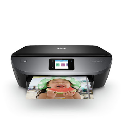 All inwards One Photo Printer alongside Wireless Printing HP ENVY Photo 7155 Driver Downloads