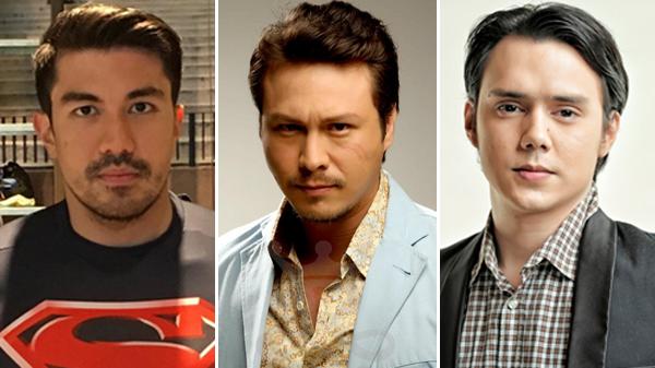 Filipino celebrities do #DrugTestChallenge (L-R): Luis Manzano, Baron Geisler, Patrick Garcia