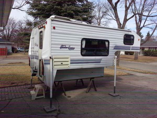 Used Pickup Campers >> Used RVs Pickup Camper Shadow Cruiser For Sale by Owner