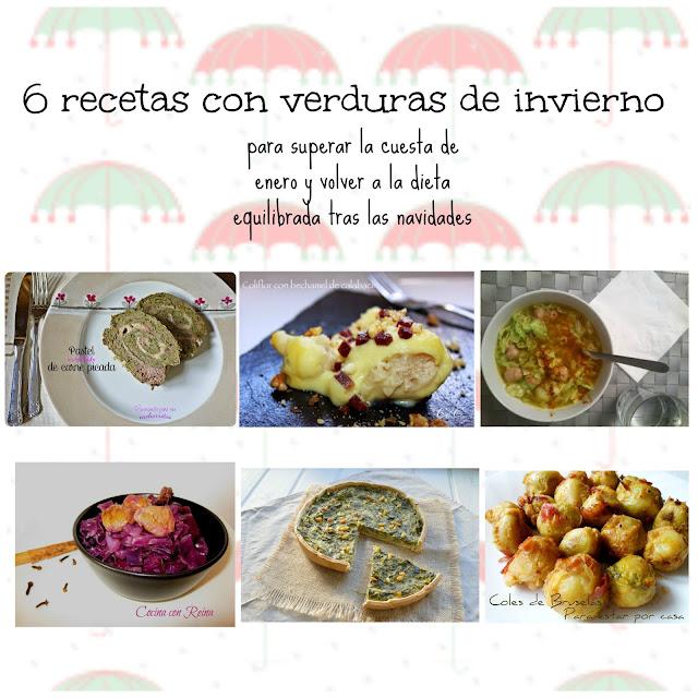 6 recetas de la huerta de invierno como cocinar coles - Cocinar verduras para dieta ...