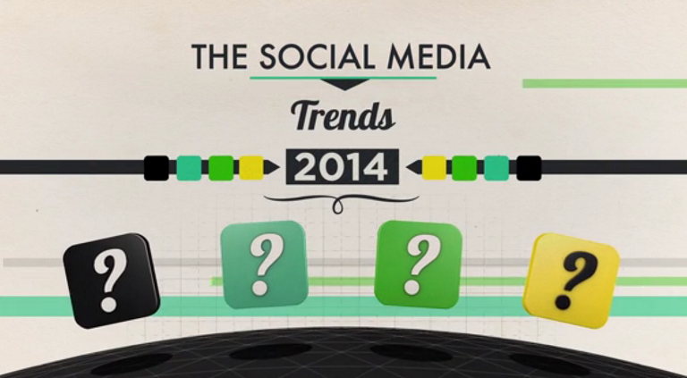 The Social Media Trends 2014 - video