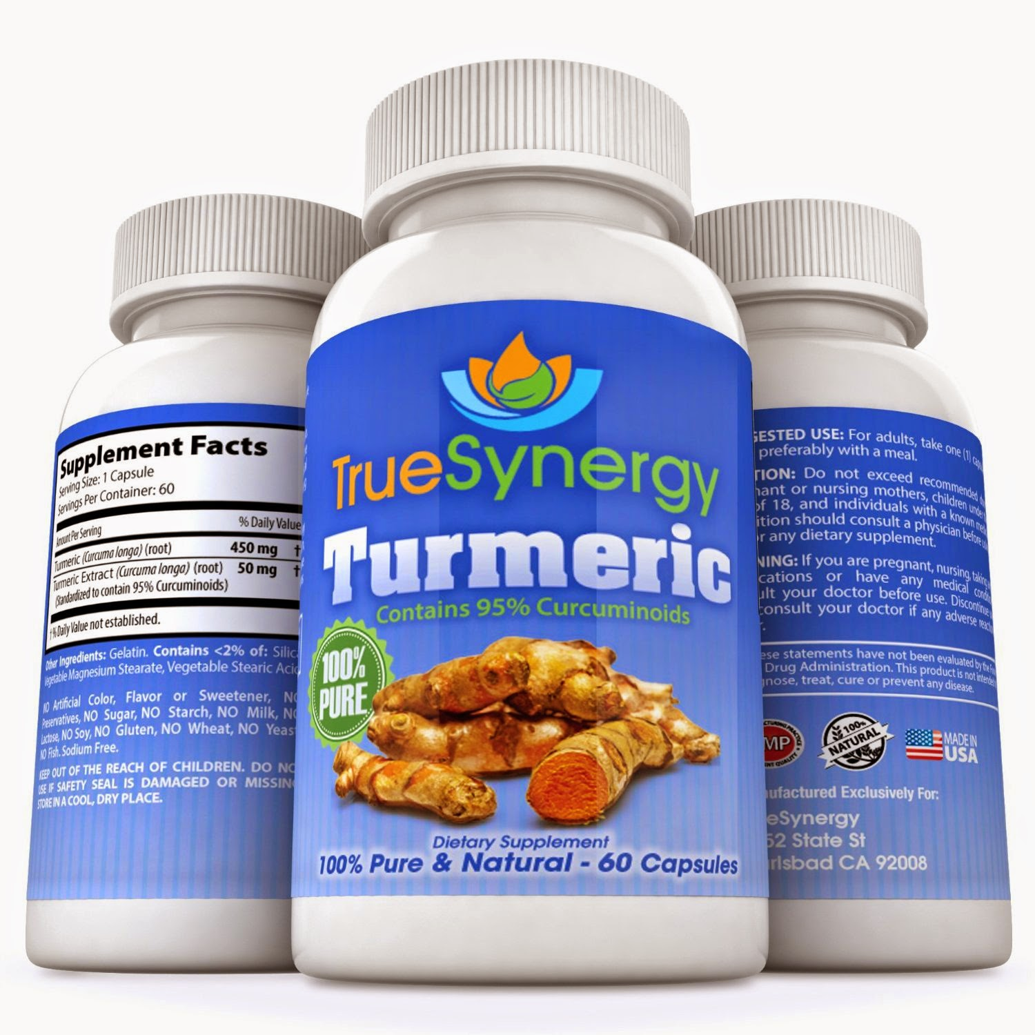 True Synergy offers a Pure and Potent Turmeric Curcumin Extract