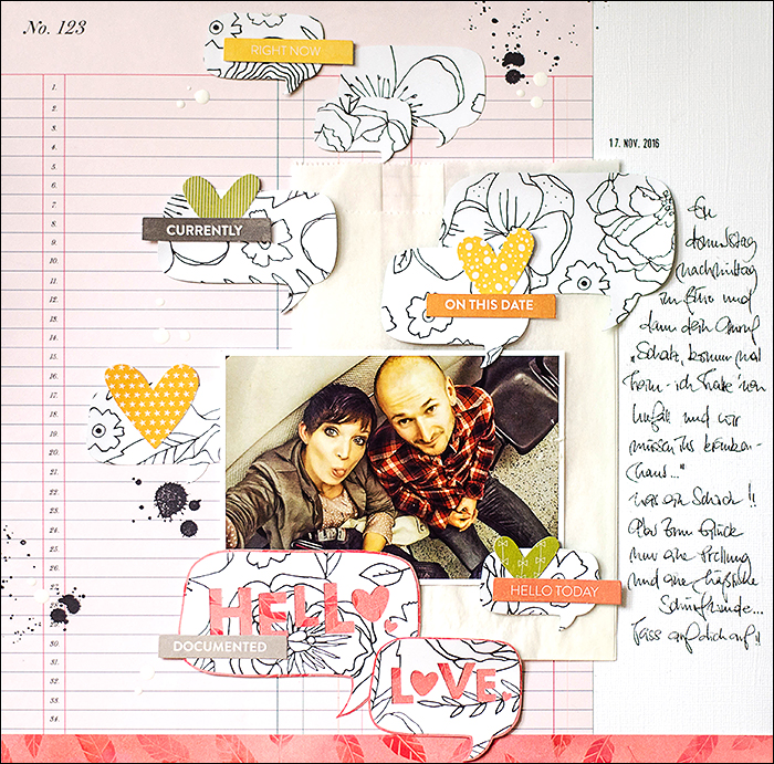 Scrapbooking - Dear Lizzy - Lovely Day