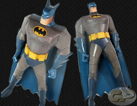 Batman: The Animated Series Paper Model by Ninjatoes