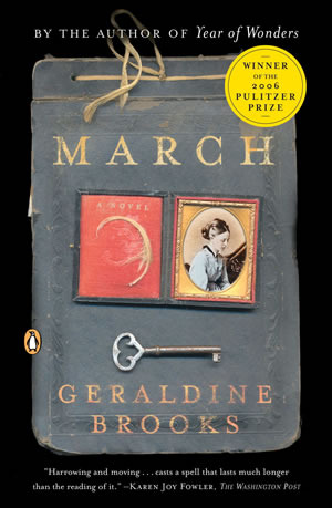 Reading 'March' this June for the LMA reading challenge!