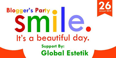 Bloggers Party Smile support by Global Estetik