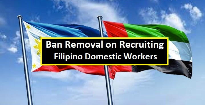 One to a greater extent than proficient word subsequently Amnesty for overseas Filipino workers inwards UAE is surrounding which UAE Ban on Recruiting New Filipino Domestic Workers