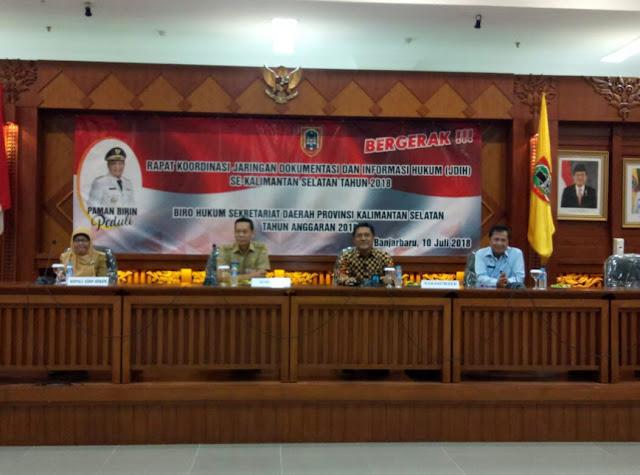 Rakor JDIH Upaya Tingkatkan Penyelenggaraan Pemerintahan dan Layanan Publik