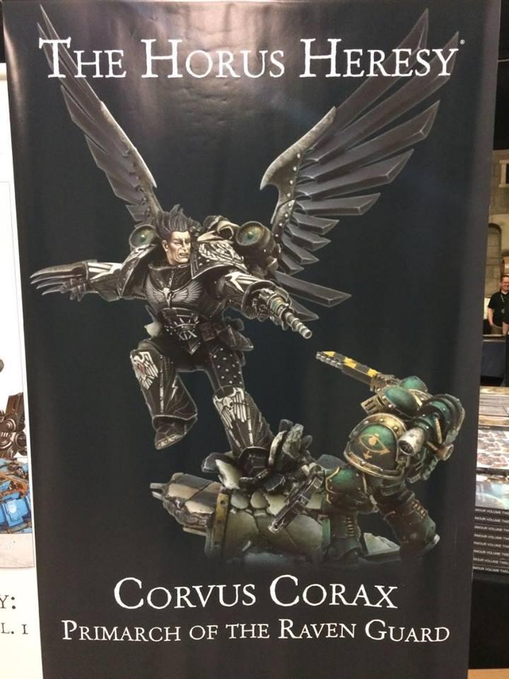 Niesamowite Battle Bunnies: Corvus Corax - Primarch of the Raven Guard WV01