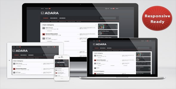 Adara v1.3.4 – Skin For XenForo – PixelExit