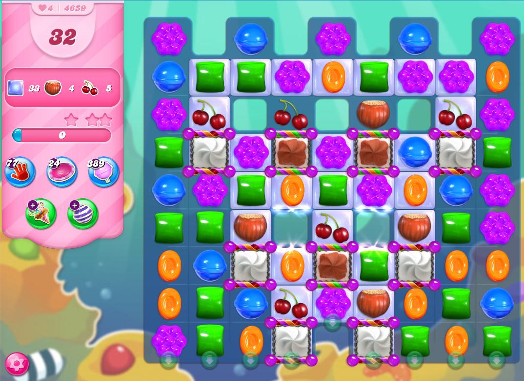 Candy Crush Saga level 4659