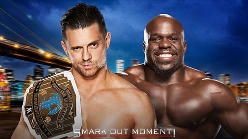 2016 WWE SummerSlam Apollo Crews vs Miz IC Title