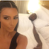 Kim Kardashian Just Shared this Photo of Herself & Kanye in Bed