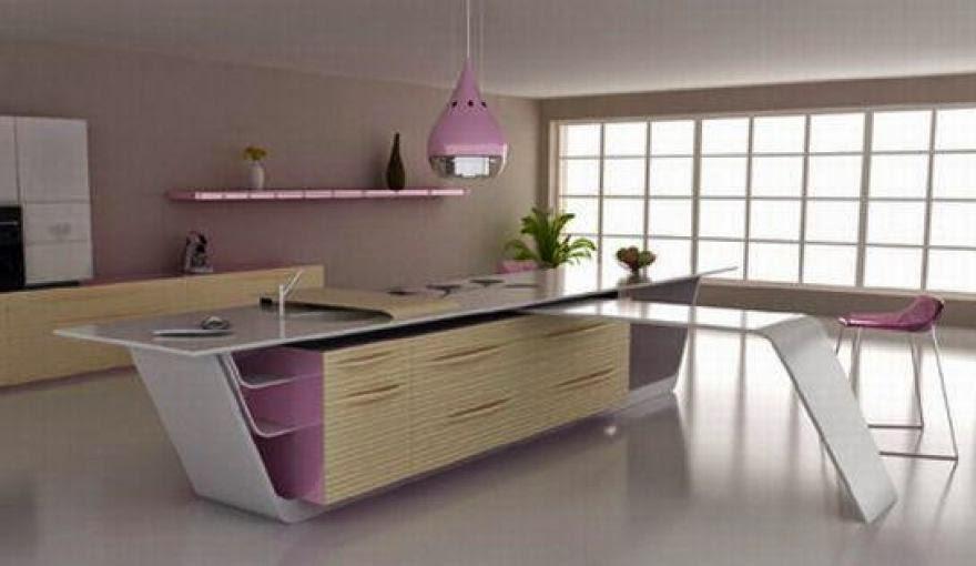cocina futurista