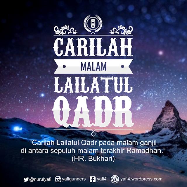 Lailatul Qadar Pada 10 Malam Terakhir