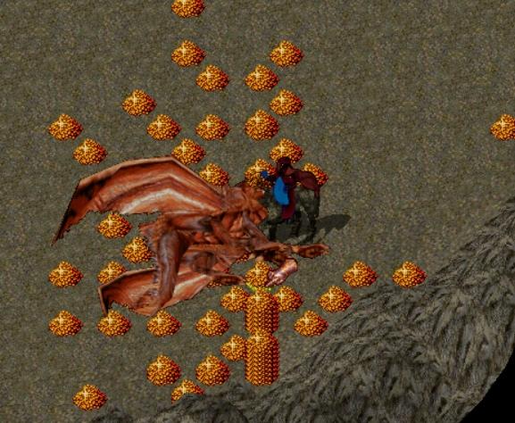 ドラゴン湧き!