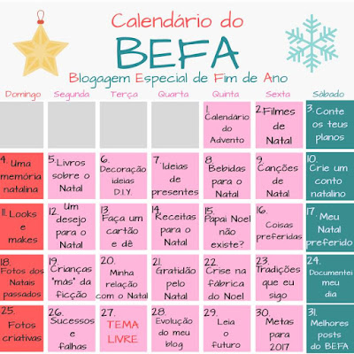 Conto de Natal - Monique e Victor - BEFA #10