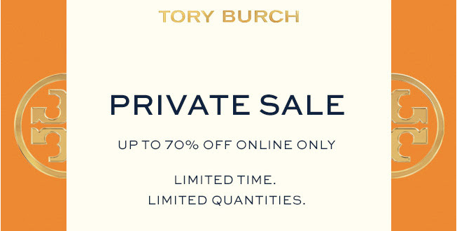 835aea15bd77 The Black Barcode  Tory Burch Private Sale Picks  Up to 70% Off